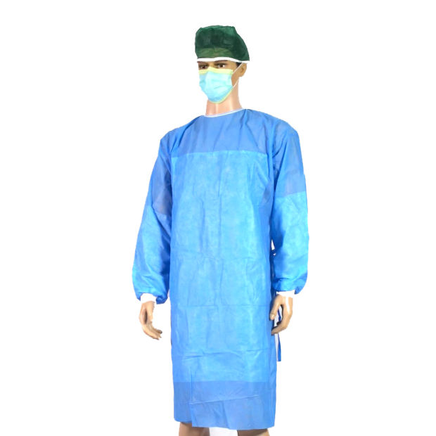 Doctor Dental Patient/Thumb Loop Operation/Protective/Exam/Visitor/SMS/CPE/PP/Sterile Scrub Disposable Nonwoven Medical/Hospital/Surgeon/Surgical/Isolation Gown pictures & photos