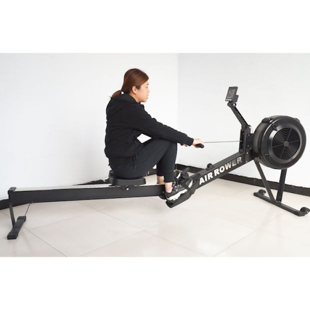 China New Fitness Equipment Air Rower Rowing Machine - China