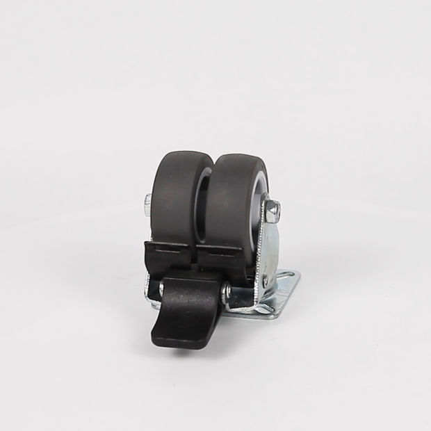 TPR Castor Wheel Furniture Castors with Brake Swivel Heavy Duty pictures & photos