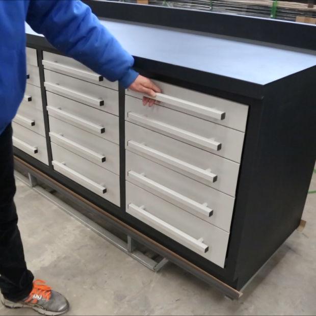 Fantastic China 10Ft Drawer Metal Tool Storage Heavy Duty Workbench Customarchery Wood Chair Design Ideas Customarcherynet