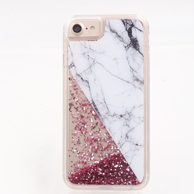Liquid Glitter Mobile Phone Case Flowing Bling Cell Phone Case pictures & photos