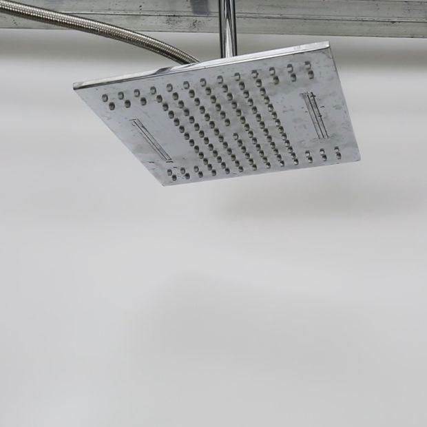10 Inch Brass Waterfall Shower Head