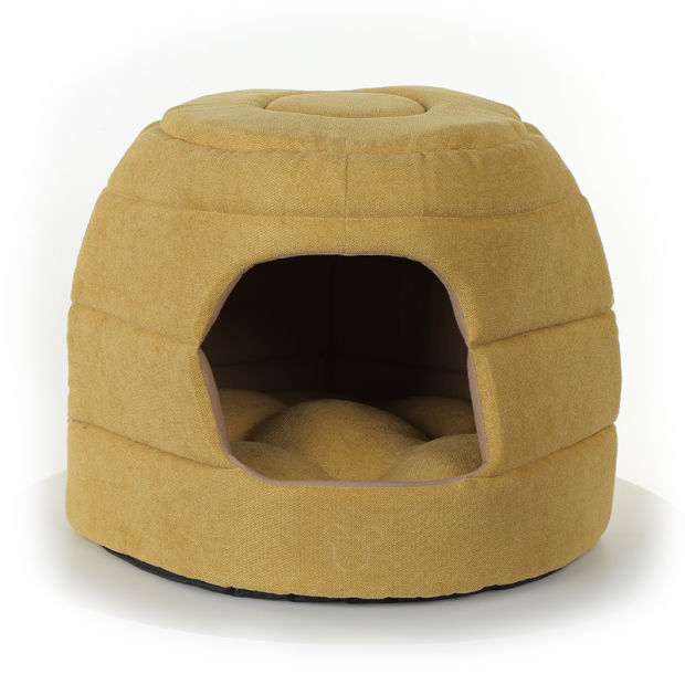 2019 Suede Fabric PP Fiber Foam Warm Soft Pet Bed pictures & photos