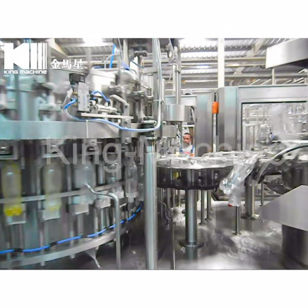 Automatic Pet Bottle Aseptic Hot Filler Juice Beverage Energy Drinks Soda Sparkling Water CSD Carbonated Soft Drink Bottling Dairy Filling Plant Packing Machine pictures & photos