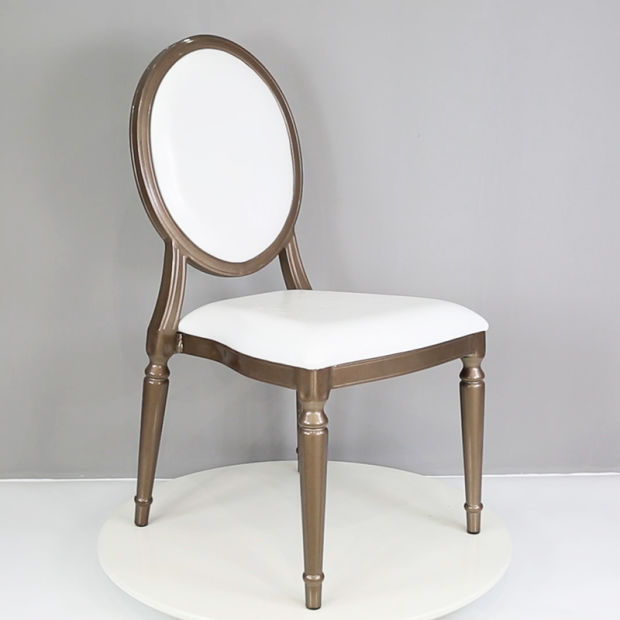 Luxury European Style Round Back Restaurant Hall Dining Chair (XYM-L139) pictures & photos