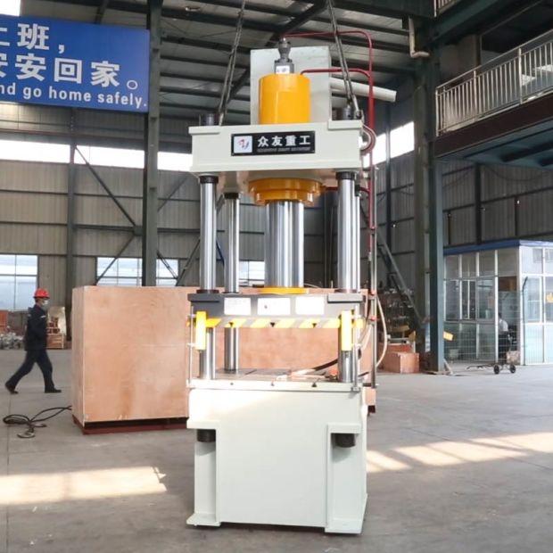 China 200 Ton 4 Post Automatic Hydraulic Press Metal Sheet