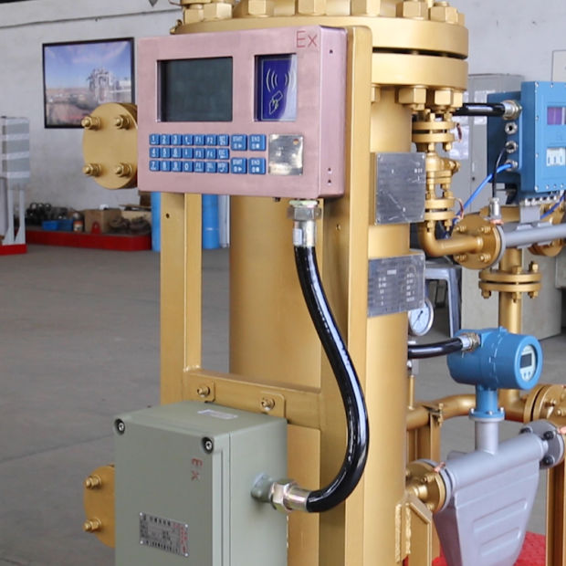 China Single Well Type Tri-Phase Metering System for Light