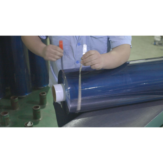 Soft Colored Roll Crystal PVC Film PVC Flexible Film Packed by Real Factory pictures & photos