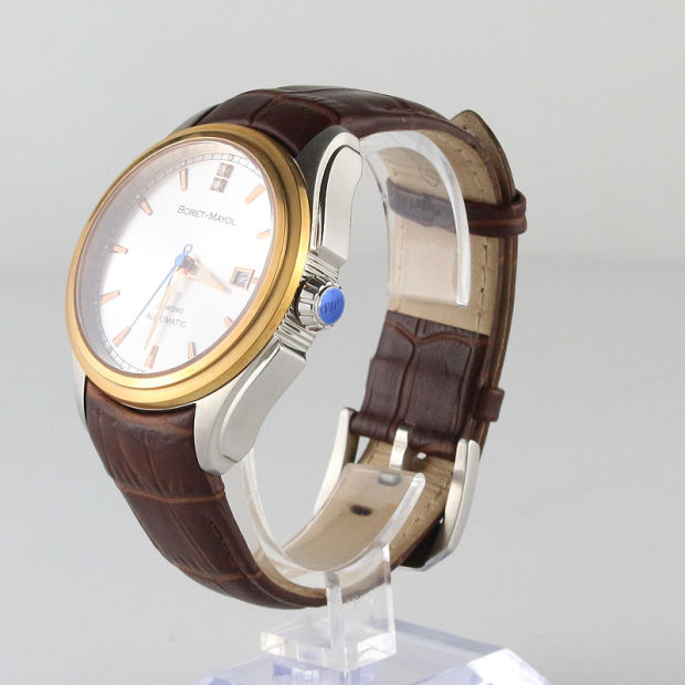 PVD Business Wrist Watch Handmade Eco-Friendly Steel Luxury Watch pictures & photos