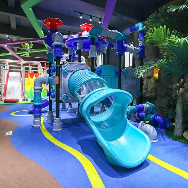 Children Colorful Plastic Outdoor Playground Big Slides for Sale pictures & photos