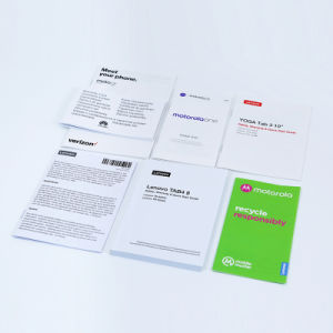 L'impression offset Affiche couleur /notice/ Brochure/manual/ documents /papier