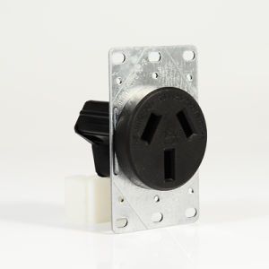 50 Amp Receptacle >> 50 Amp Nema 10 50r Flush Mounting Industrial Receptacle