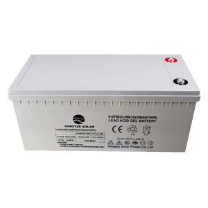 3 Years Warranty Storage Solar 12V 200ah Gel Deep Cycle Battery for Power Bank