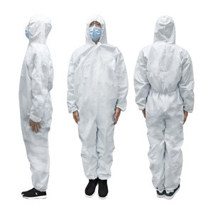 Disposable Work Uniform Full Body Safety Coverall Protective Workwear