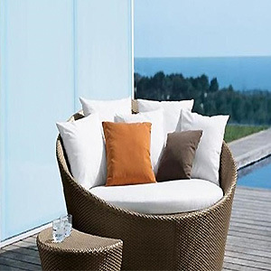 Wholesales Rattan/Wicker Garden Furniture Outdoor Sun Chaise Lounger/Daybed