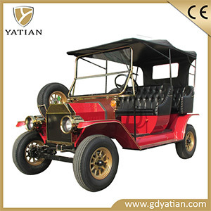 Golf Course Brushless AC Motor 4 Passenger Electric Vehicle Electric Car