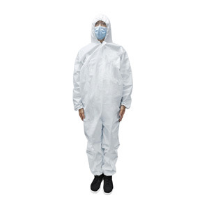 Disposable Full Body Coverall Safety Clothes Protective Suit