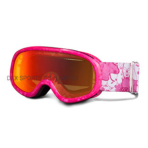 Brand Your Own Big Vision Reflective Safety Ski Goggles