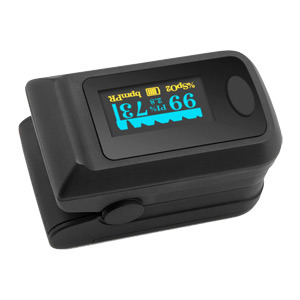 Hot Selling LED Display Finger Pulse Oximeter in Stock