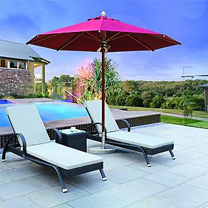 Factory UV Resistant Folding Sun Outdoor Beach Umbrella Chinese Garden Parasol