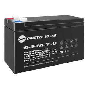 12V 7ah 20hr Small SMF VRLA Lead Acid AGM Battery for UPS/Emergency/Telecom System