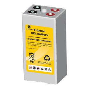 Yangtze 2V1000ah Lead Acid Deep Cycle Tubular Opzv Battery