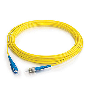 China Manufacture Sc-St 9/125 OS2 Simplex LSZH Fiber Optic Patchcord