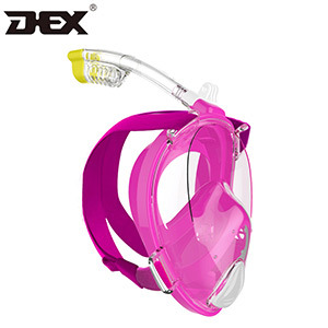 Hot Selling Easybreath Dry Snorkeling Scuba Diving Mask with Camera Mount