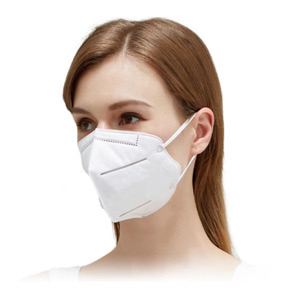 Disposable Kn95 White Face Protective Mask
