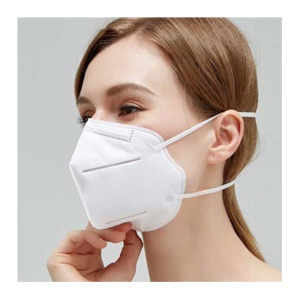 Wholesale Non Woven Fabric Earloop Disposable Protective KN95 FFP2 Face Mask