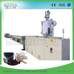 Plastic PVC/PE/PP/LDPE/PPR Sewage & Drainage& Water& Electric Conduit Pipe/Tube/ Window Profile/Sheet (extruder- winding) Extrusion/Extruding Making Machine