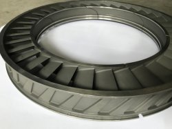 Nozzle Ring for Gas Turbine Investment Casting Engine 26.00sq Ulas6