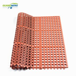 Anti Fatigue Mat Antibacterial Floor Mat Oil Resistance Rubber Mat For  Kitchen Hotel