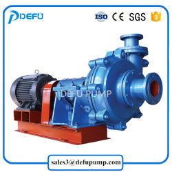Big Capacity High Efficiency Belt Driven Slurry Pump for Sale
