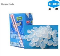 Straw Attachment Adhesive Hot Melt Glue for Drink Box