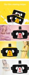 3D Vr Case Virtual Reality Glasses for Movies