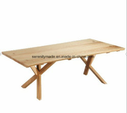 Wholesale Costom-Made Wooden Furniture Replacement Base Lounge Timber Rectangle Coffee Table