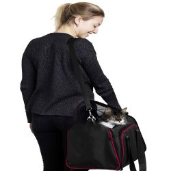 Outdoor Sport Expandable Pet Dog Carrier Car Travel Bag Oxford Pet Supply