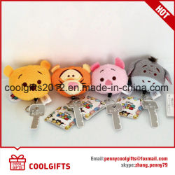Wholesale Factory Mini Small Animals Toys Plush Keychain, Soft Stuffed Toy