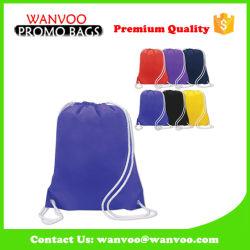 China 210d Polyester Blue Backpack Bag for Promotion