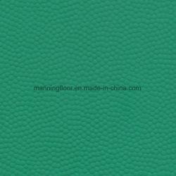Green Ball Pattern 5mm Thickness Cheap Price Vinyl Flooring Sponge Floor for Tennis Badminton