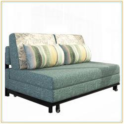 Fabric Sofa Bed Steel Frame Folding 192 80cm