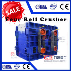 Four Roller Crusher Stone Broke