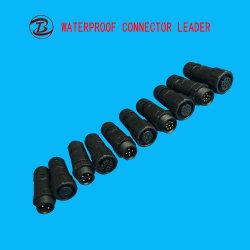 Good Quality Reasonable Price 2-12 Pin Waterproof M12 IP68 Plug