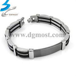 Investment Casting Hardware Stainless Steel Fashion Jewelry Bracelet
