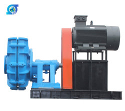 Direct Coupling Electric Motor Slurry Pump Pulley Belt Slurry Pump
