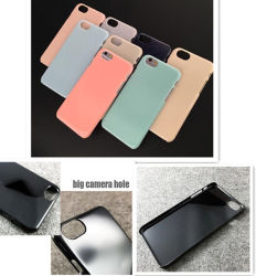 PC Case with Big Camera Hole High Quality Basic Case for iPhone 7