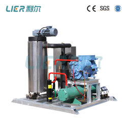 Slurry Ice for Fish, Seafood, Seawater Ice Machine Vessel 0.8t/Day
