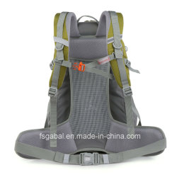 Nylon Hiking Trekking Traveling Sports Backpack Bags with USB Charger