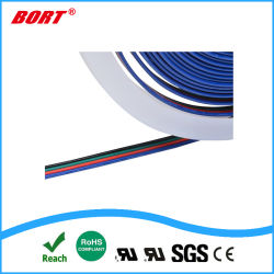 UL2468 4pin 22AWG for RGB LED Strip Cable Wire